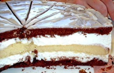 3 tages torte zitronen kakao torte