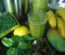 abnehmen grüner smoothie basis rezept neu