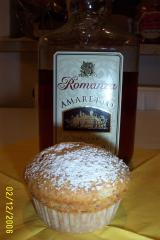 amaretto mandel rosinen muffins