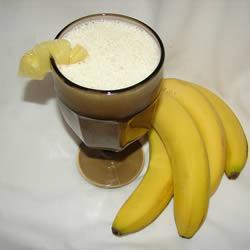 ananas bananen smoothie