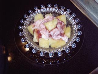 ananas dessert schnell gemacht