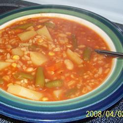 annes einfache gemüsesuppe