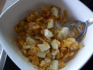 apfel caramel frühstück