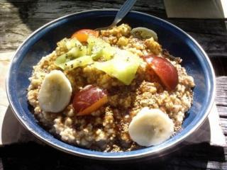 apfel haferflocken frühstück
