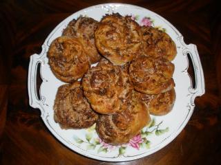 apfelschnecken im flavorwaveoven gebacken
