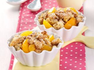 aprikosen crumble