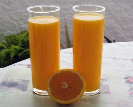 aprikosen orangen drink