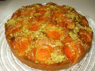 aprikosen pistazien kuchen