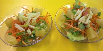asiatischer möhrensalat