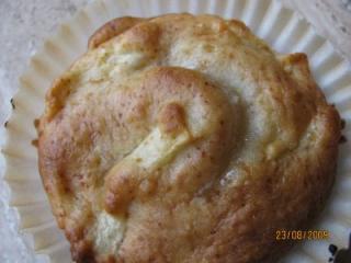 banane apfel vanille muffins ohne fett gebacken