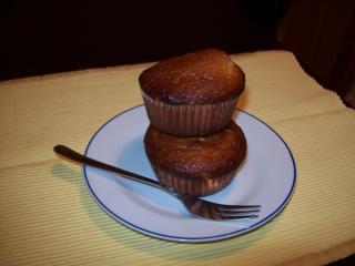 banane nuss muffin