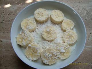 bananen mango kokos müsli für den großen hunger