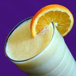 bananen orangen smoothie
