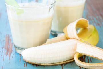 bananenmilch für kinder
