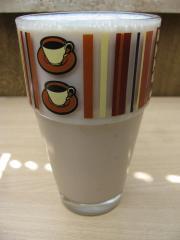 bananensplit buttermilch shake