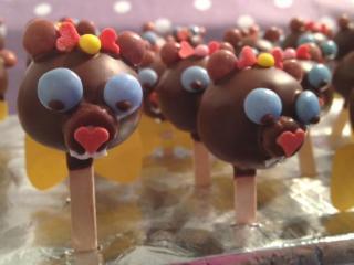 bärchen cake pops