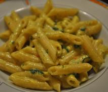bärlauch curry nudelsoße auch vegan möglich