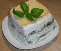 basilikum torte mascarpone basilikum schichttort