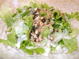 batavia salat mit saaten