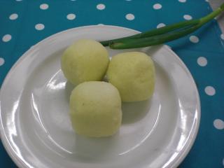bayrische kartoffelknödel halb und halb