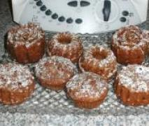 birnen schoko muffins
