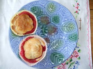 blätterteig erdbeer muffins geht schnell