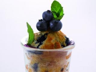 blaubeer kardamon muffin