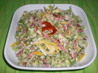 bleichsellerie salat