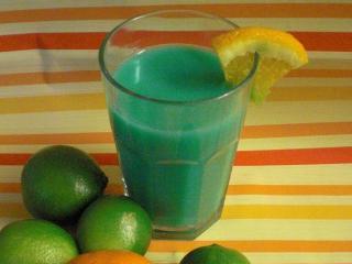 blue on blue martini