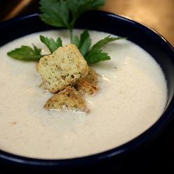 blumenkohl lauch suppe mit wenig kohlenhydraten