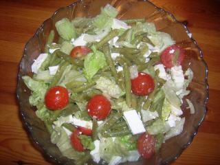 bohnensalat mediterran