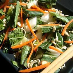bok choy salat