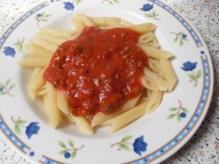 bolognese mit ketchup