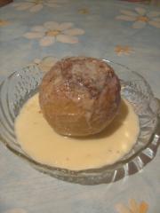 bratapfel mit vanilleeis