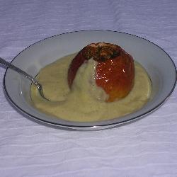 bratäpfel mit vanillesauce