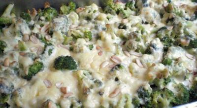 broccoli erdnuss gratin