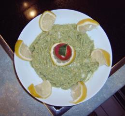 brotaufstrich mit avocado