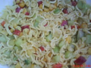 bunter nudelsalat ohne kochen