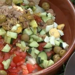 bunter spanischer salat ensalada campestre