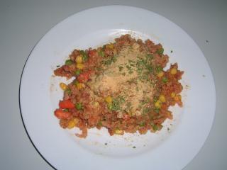 buntes risotto mit speck