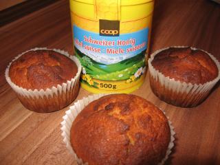 buttermilch honig muffins