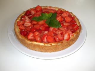 cheesecake mit erdbeeren und holunder rezepte suchen. Black Bedroom Furniture Sets. Home Design Ideas
