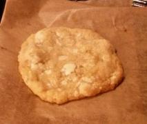 chewy cookies mit mandeln und weißer schokolade wi