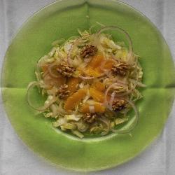 chicoree salat mit orangen
