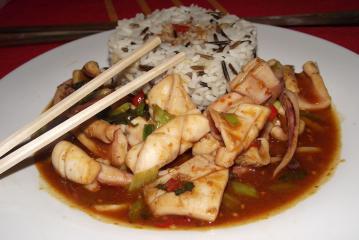 chili tintenfisch aus bali