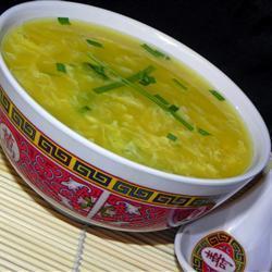 chinesische eierblumensuppe chi tan t apos ang