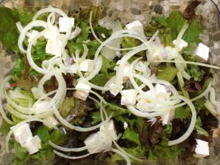 chorta salat salat aus griechenland zur fastenzeit