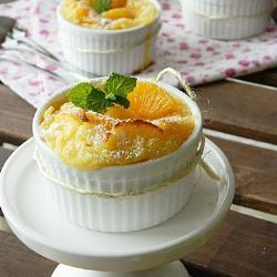clafoutis mit mandarine
