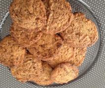 cookies mit schokolade pinien kerne und haferfloc