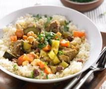 couscous marokkanisch mit safran